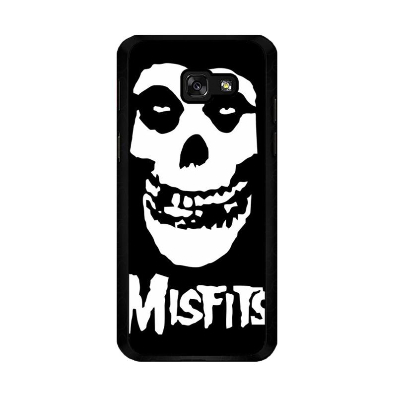Flazzstore Horror Punk Rock Band Misfits Skull Z0506 Custom Casing for Samsung Galaxy A5 2017
