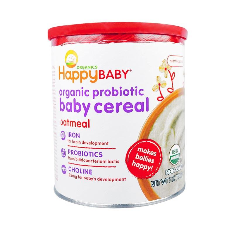 Happy Baby Organic Bellies Oatmeal Cereal [198g]