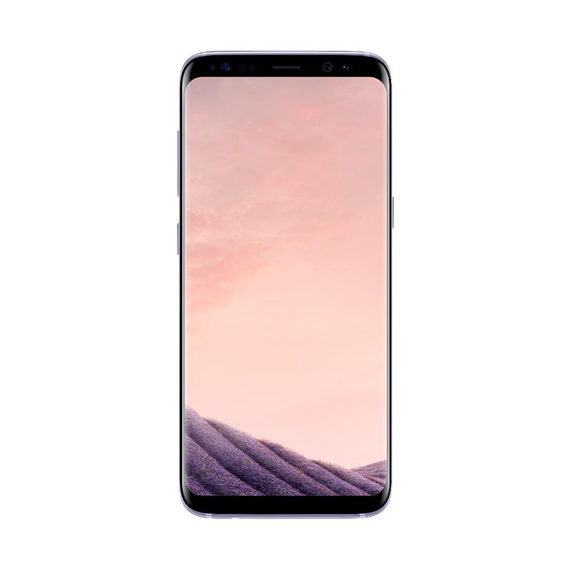 Samsung Galaxy S8 Smartphone - Orchid Gray [64 GB/ 4 GB] + Free Tumi Casing for Samsung Galaxy S8