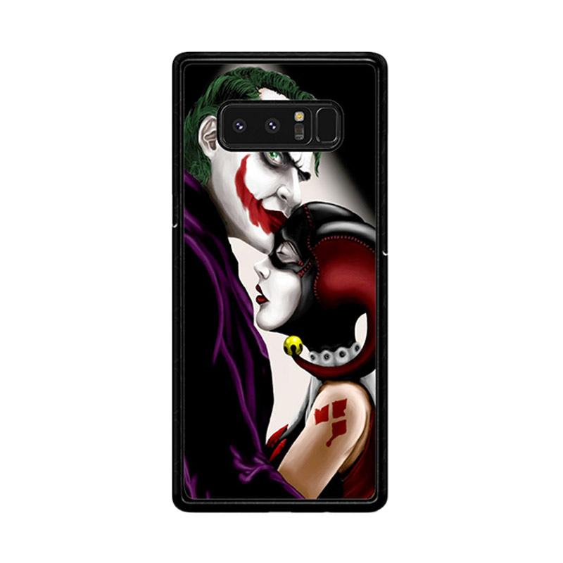 Flazzstore Harley Quinn And Joker Z0557 Custom Casing for Samsung Galaxy Note 8