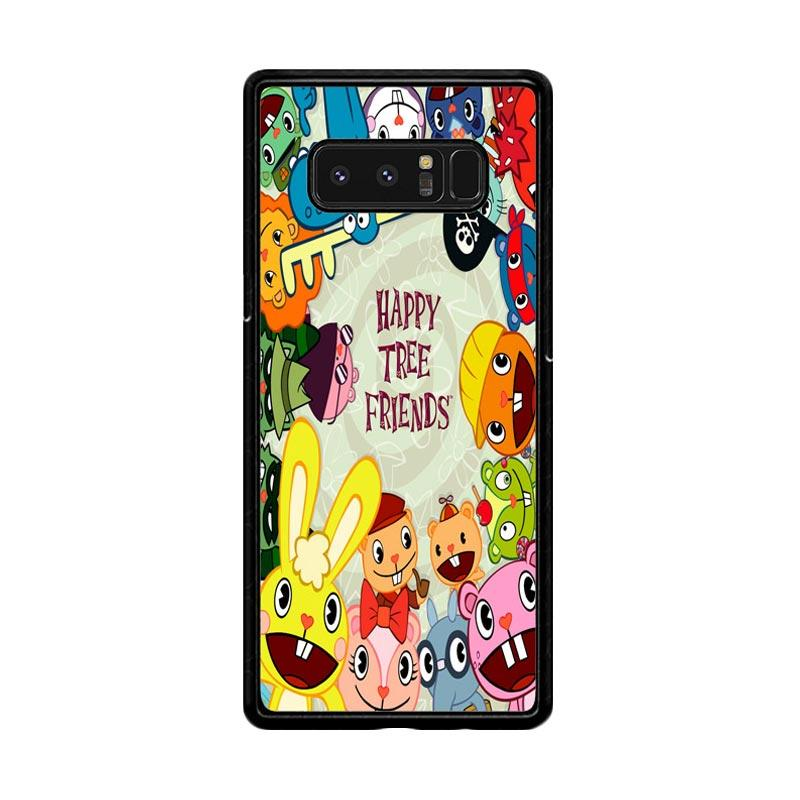 Flazzstore Happy Tree Friends Character Z0900 Custom Casing for Samsung Galaxy Note8