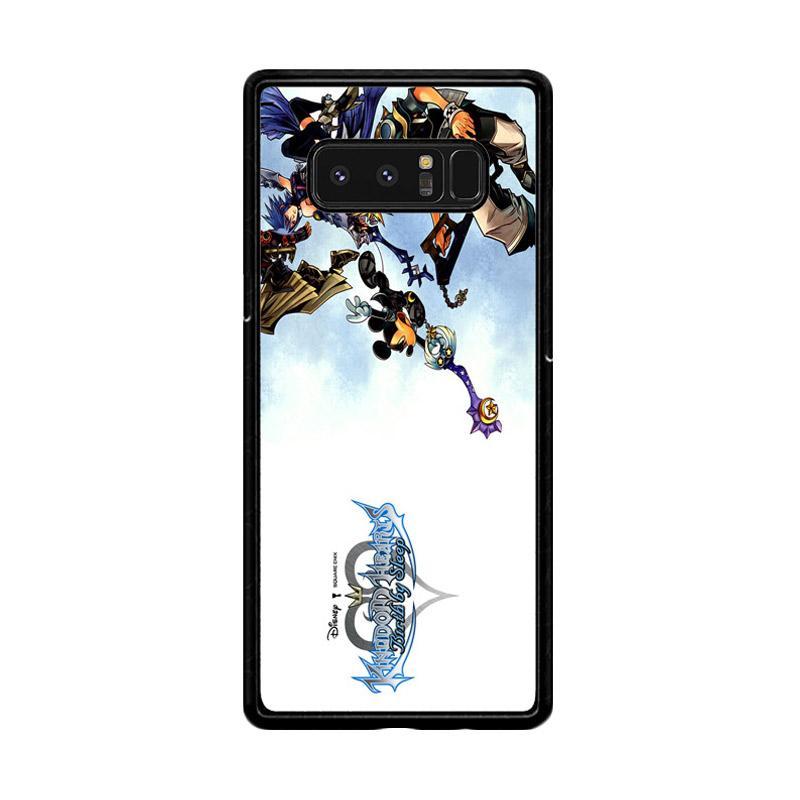 Flazzstore Kingdom Hearts Iii Game Z0904 Custom Casing for Samsung Galaxy Note8