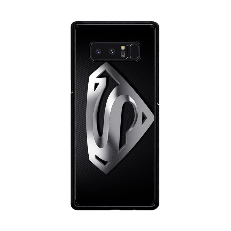 Flazzstore Superman Silver Logo Z1291 Custom Casing for Samsung Galaxy Note8