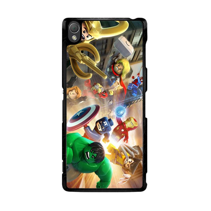 Flazzstore Lego Marvel O0408 Custom Casing for SONY Xperia Z3