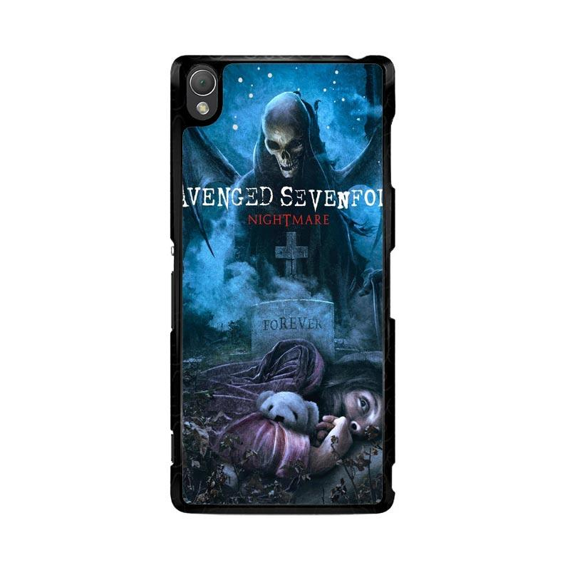 Flazzstore Avenged Sevenfold Rip Z0124 Custom Casing for Sony Xperia Z3