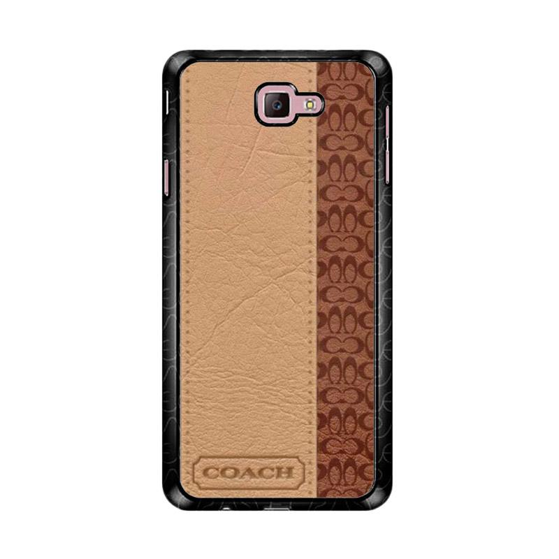 Flazzstore Coach Brown Z4833 Custom Casing for Samsung Galaxy J7 Prime