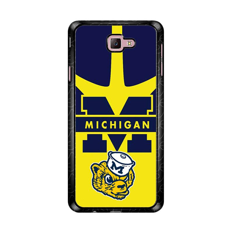 Flazzstore Michigan Wolverines Z4911 Custom Casing for Samsung Galaxy J7 Prime