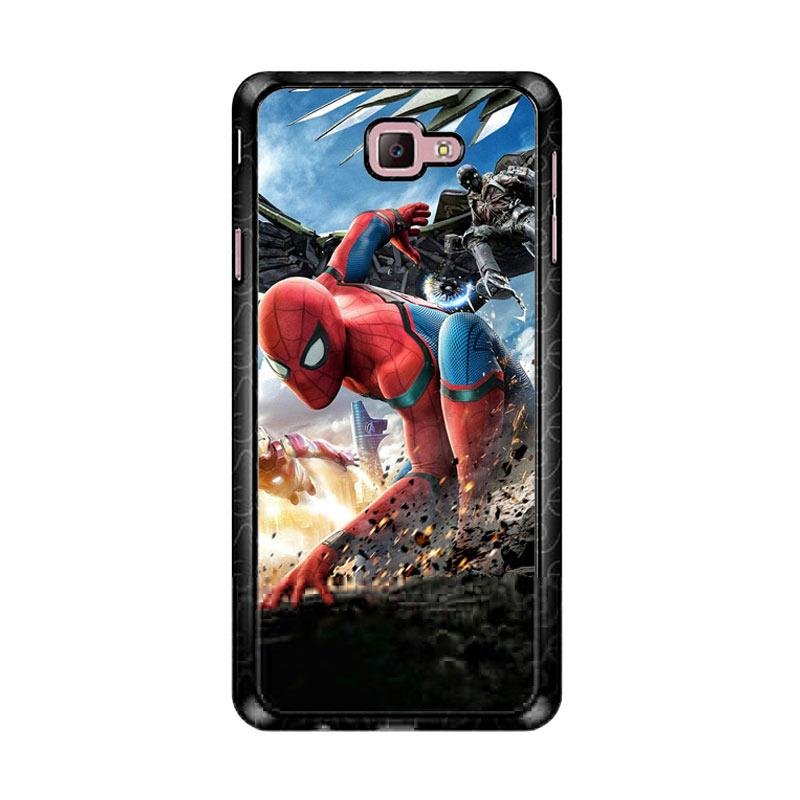 Flazzstore Spiderman Homecoming Z4987 Custom Casing for Samsung Galaxy J7 Prime