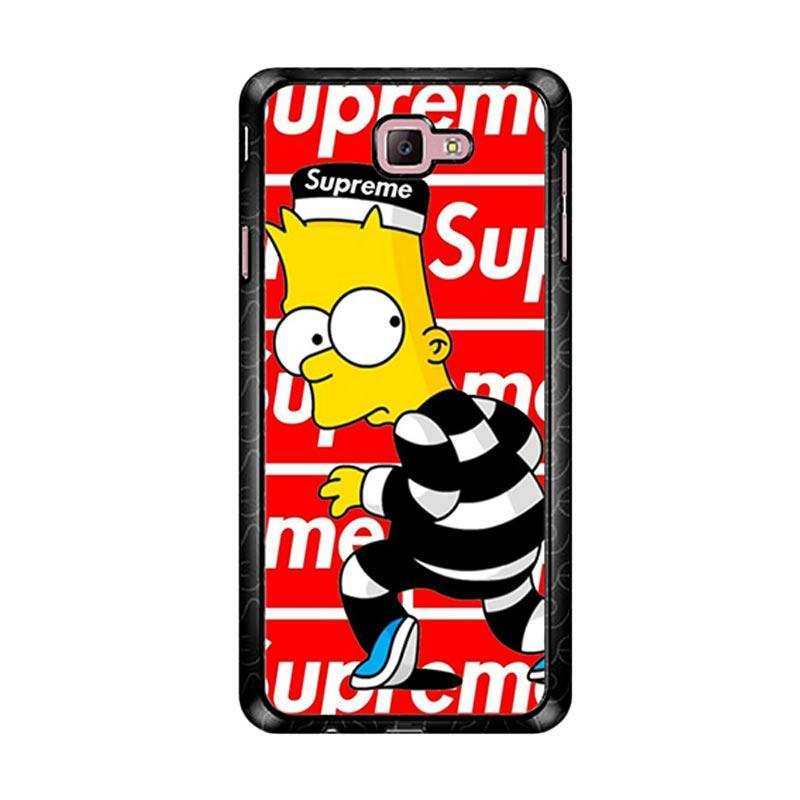 Flazzstore Supreme Simpsons Z5202 Custom Casing for Samsung Galaxy J7 Prime