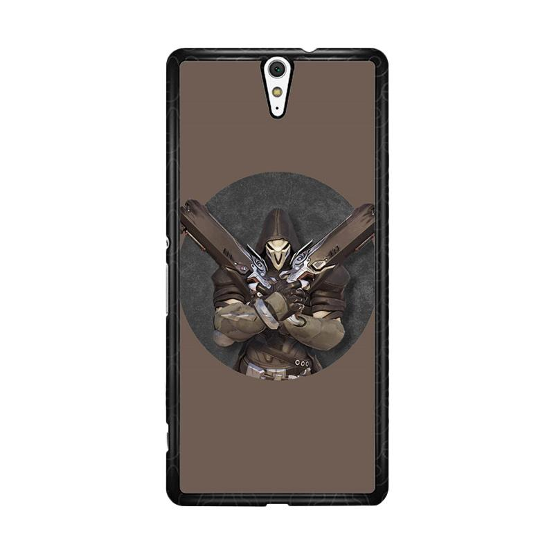 Flazzstore Reaper Overwatch O0324 Custom Casing for Sony Xperia C5 Ultra