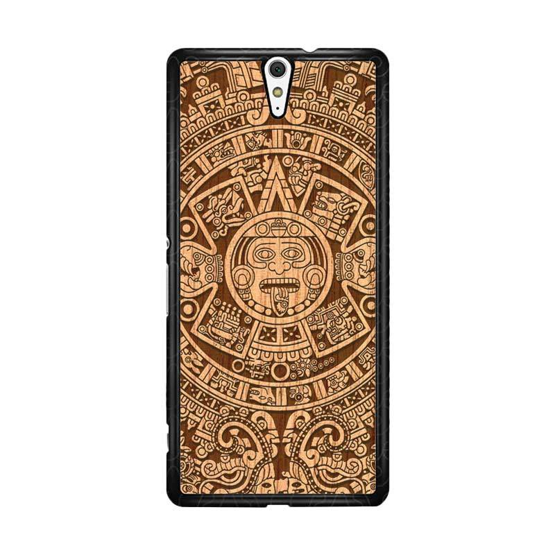 Flazzstore Mayan Calender F0202 Custom Casing for Sony Xperia C5 Ultra