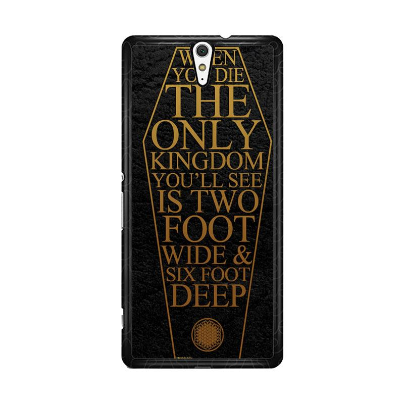 Flazzstore Bring Me The Horizon Coffin The House Of Wolves Quote F0353 Custom Casing for Sony Xperia C5 Ultra