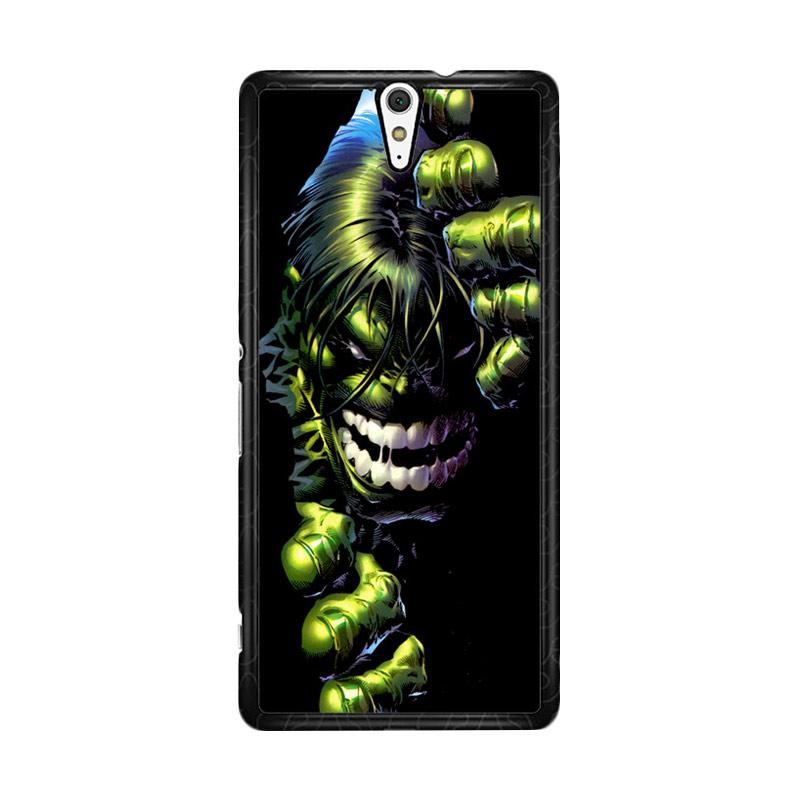 Flazzstore Superheroes The Incredible Hulk Z0047 Custom Casing for Sony Xperia C5 Ultra