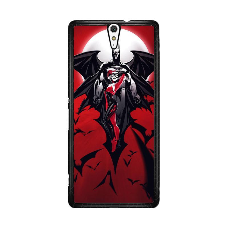 Flazzstore Batman Harley Quinn Z0068 Custom Casing for Sony Xperia C5 Ultra