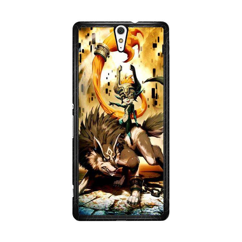 Flazzstore Zelda And Wolf Twilight Princess Z0255 for Sony Xperia C5 Ultra