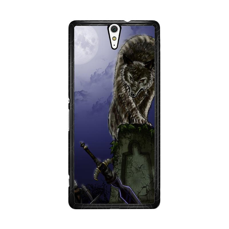 Flazzstore Great Grey Wolf Sif Puppy Z0311 Custom Casing for Sony Xperia C5 Ultra