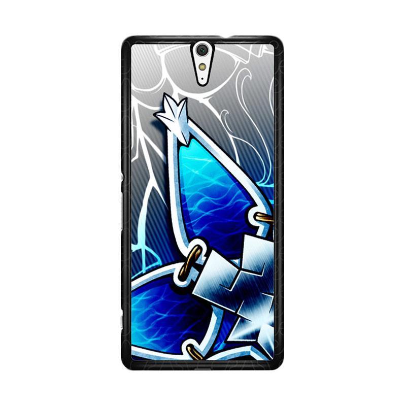 Flazzstore Kingdom Hearts Aqua Wayfinder Z0357 Custom Casing for Sony Xperia C5 Ultra