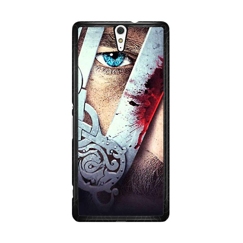 Flazzstore Vikings Tv Show Eyes Z0937 for Sony Xperia C5 Ultra