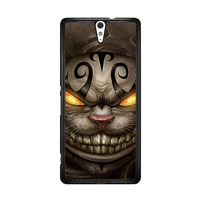Flazzstore Alice Madness Returns Cheshire Cat Z0999 Custom Casing for Sony Xperia C5 Ultra