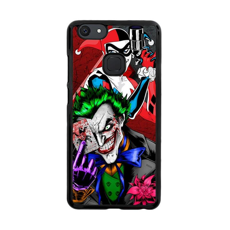 Flazzstore The Joker Harley Quinns Revenge Z2258 Custom Casing for Vivo V7 Plus