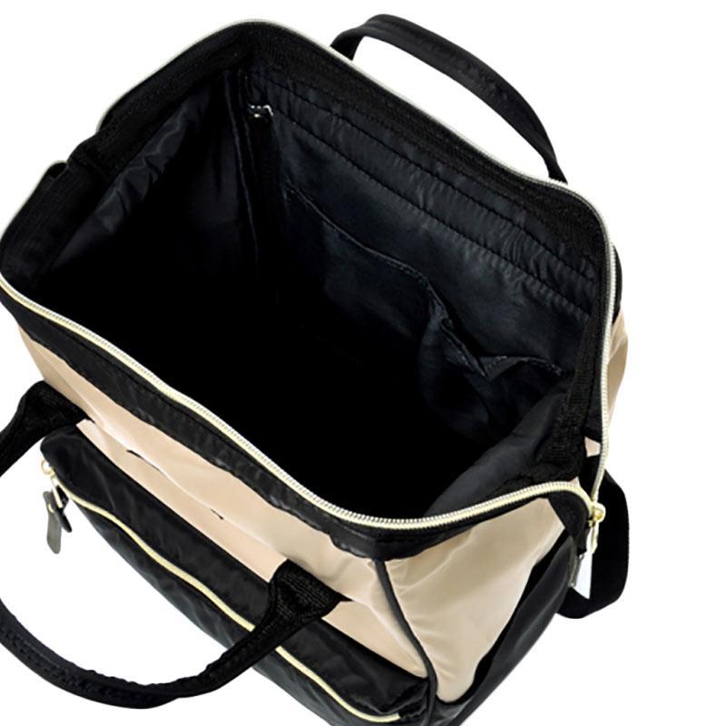 Jual Anello Backpack Rucksack Mini Size AT-B1492 High Density Nylon - Beige  Black Online - Harga   Kualitas Terjamin  f1bf108318
