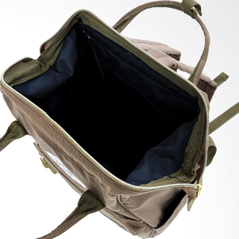 Jual Anello Backpack Rucksack Mini Size AT-B1492 High Density Nylon - Gray  Beige Online - Harga   Kualitas Terjamin  3280de1fdd