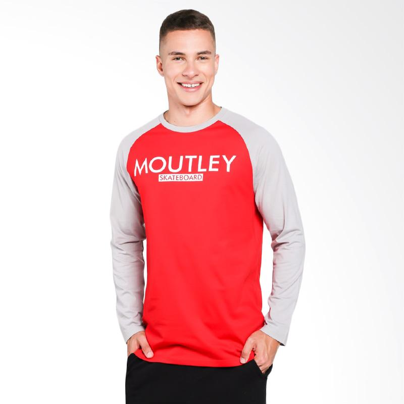 Moutley 0109 T-Shirt Pria - Grey