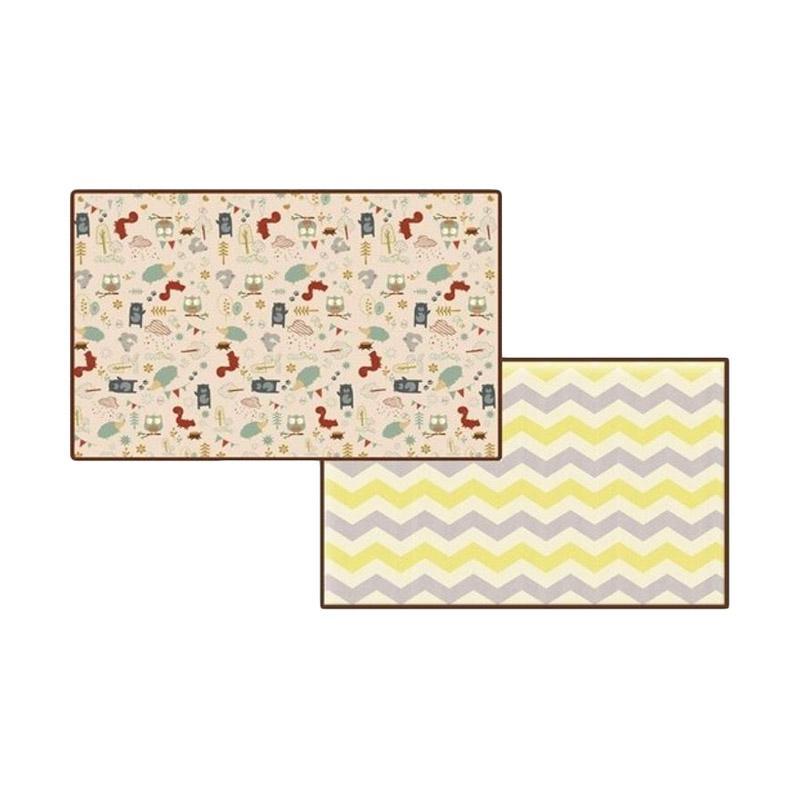 Parklon PE Roll Squirrel Zigzag Playmat [Size L]