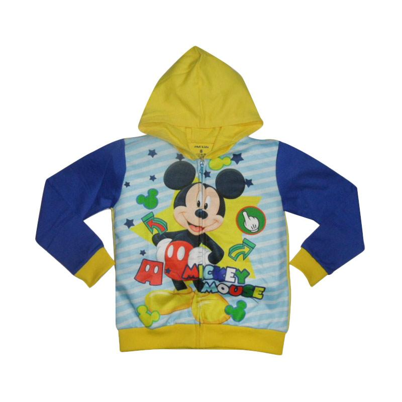 VERINA BABY Mickey Mouse Hodie Jacket Anak - Blue Yellow