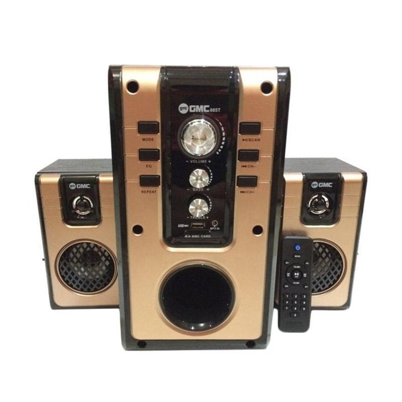 harga GMC 885T Bluetooth Speaker Multimedia Blibli.com