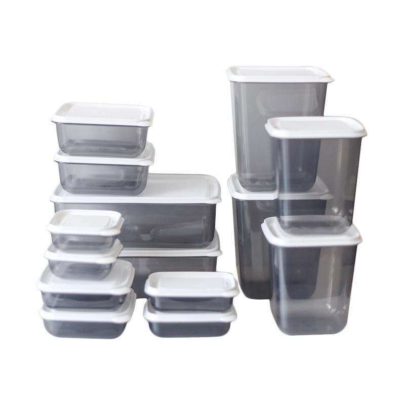 ... 7g Premium 14 Buah Tempat Penyimpanan Source · Kelebihan Kekurangan Calista Otaru Smoke Sealware Set Tempat Penyimpanan Makanan Putih 14 Pcs