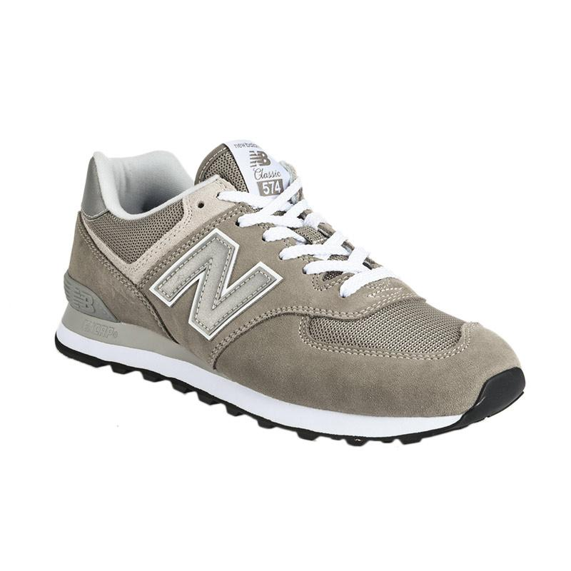 harga New Balance Men 574 Classic Sepatu Olahraga Pria - Grey [NEWML574EGG] Blibli.com