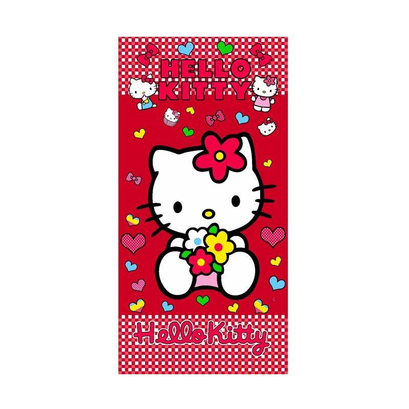 Kelebihan Kekurangan Rosanna Printing Hello Kitty Love Handuk - Colorful [50 x 100 cm]