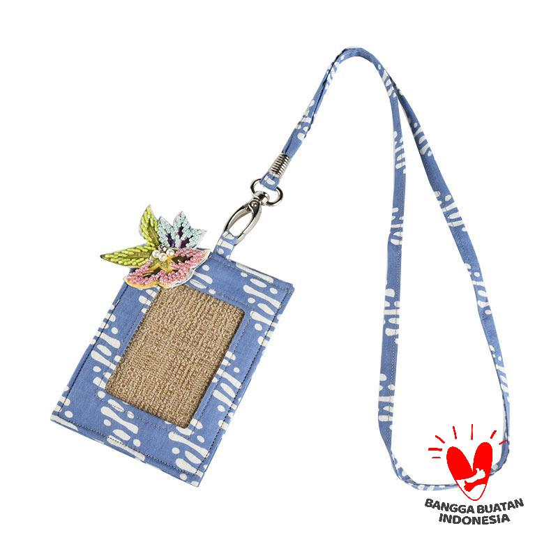 harga Origo Chain With Pearls ID Card Holder - Biru Blibli.com