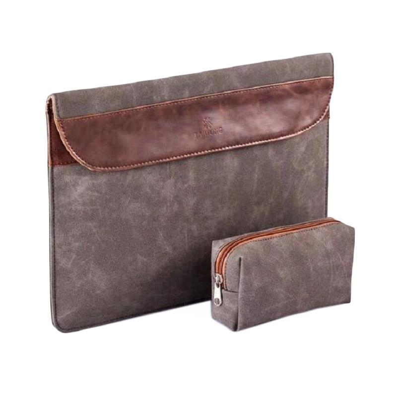 LAIWONG Leather Softcase Sleeve Case