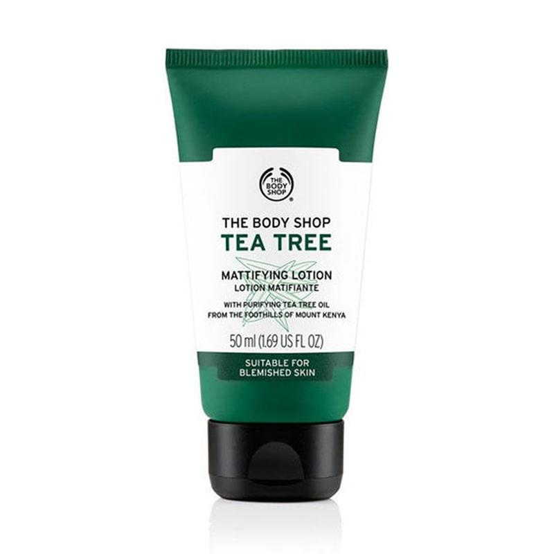 The Body Shop Tea Tree Mattifying Lotion Face Lotion 50 mL