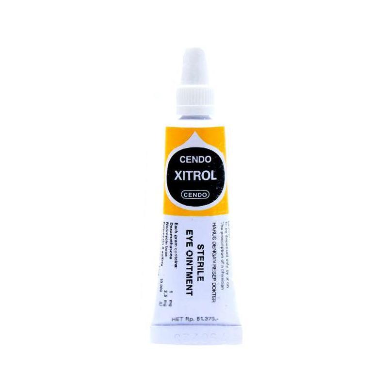 Jual Cendo Xitrol Eye Ointment Obat Resep Dokter Online Februari 2021 Blibli
