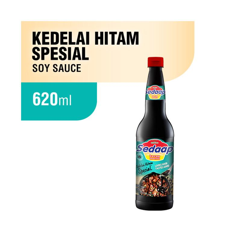 SEDAAP Kedelai Hitam Special Kecap Botol 620mL