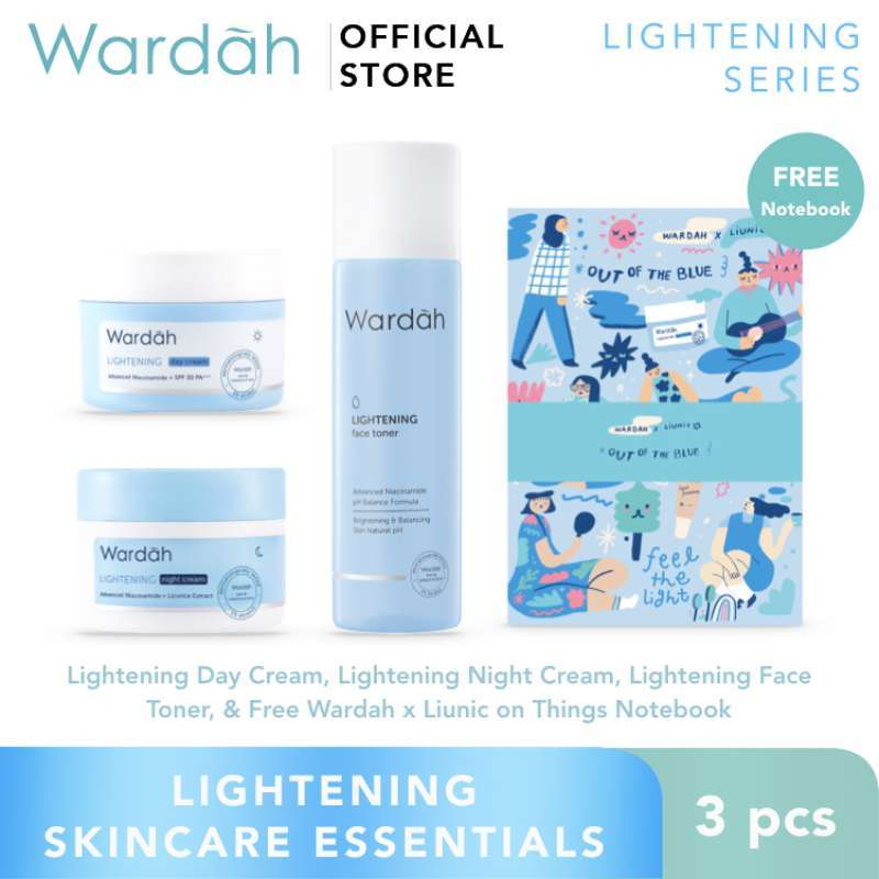 Wardah Lightening Skincare Essentials