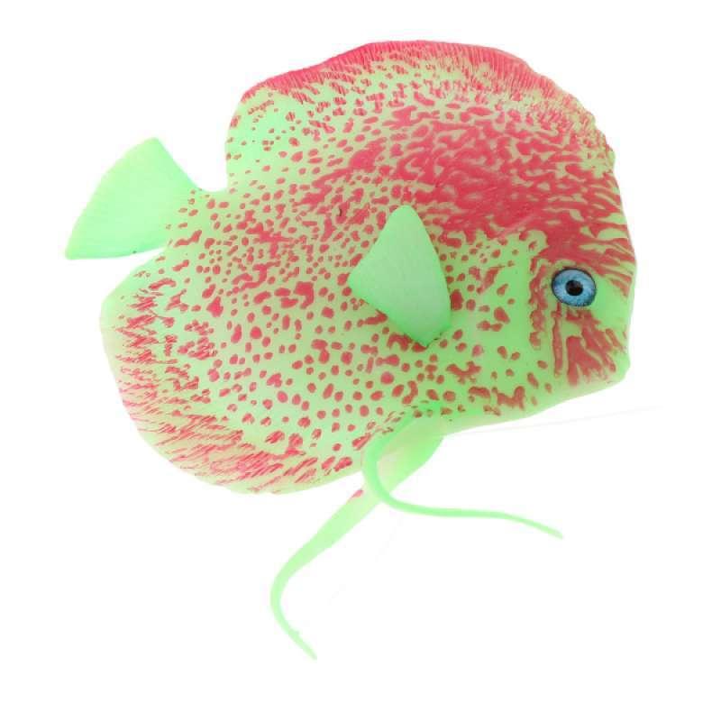 Jual Artificial Glowing Fish Aquarium Fish Tank Landscape Decoration Ornament Online Januari 2021 Blibli