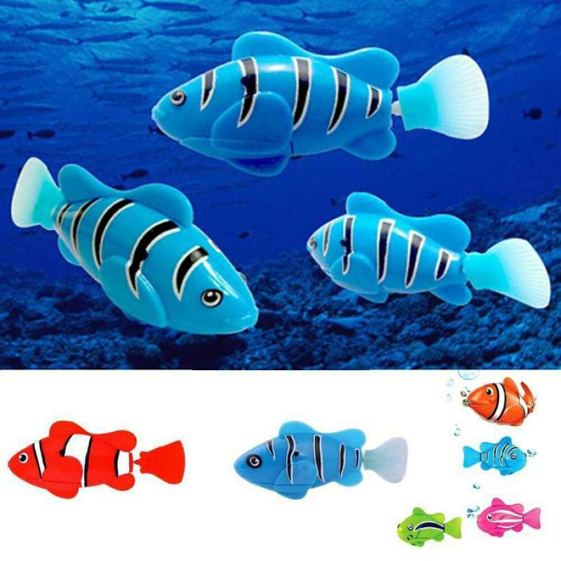 Mainan Anak Edukatif Robot Ikan Berenang Di Air Swim Robofish Nemo Terbaru Agustus 2021 Harga Murah Kualitas Terjamin Blibli
