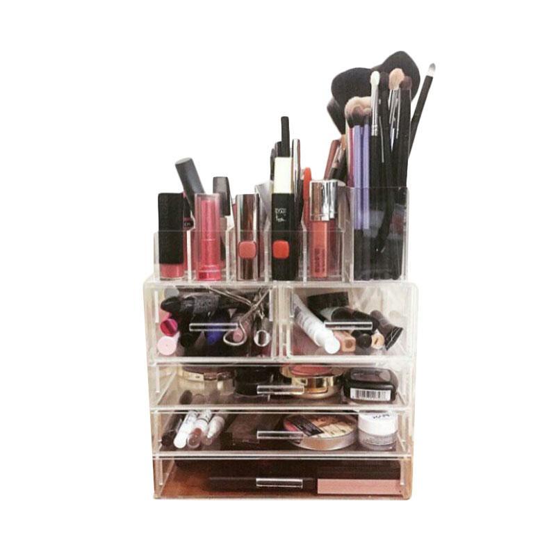 Acrylic MakeUp Tipe KSP 2 Organizer