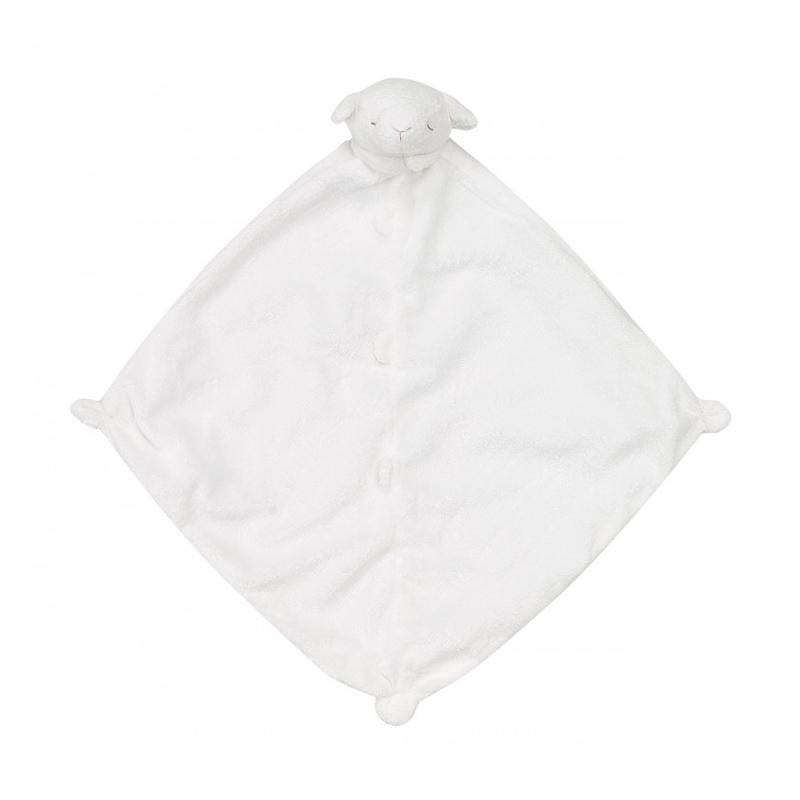 Angel Dear Mini Blankie - White Lamb