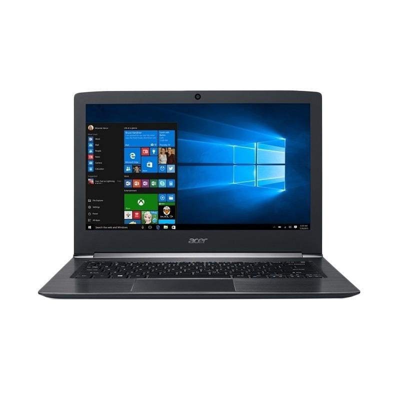 Acer S13 S5-371 Notebook - Hitam[Intel Core I5-6200U/4 GB/13.3 Inch/Win 10]