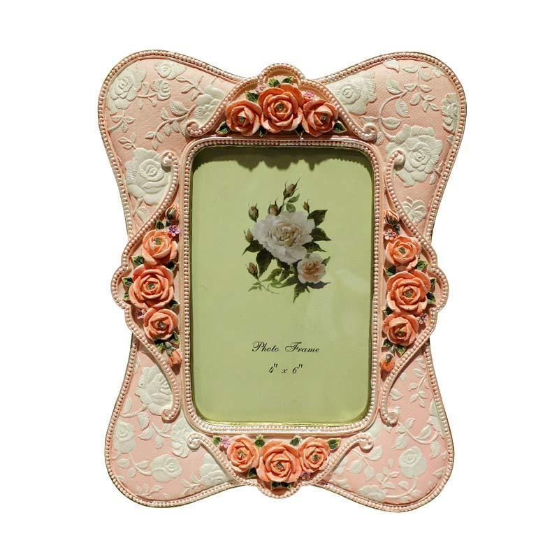 Qhomemart Bunga Frame Photo - Pink