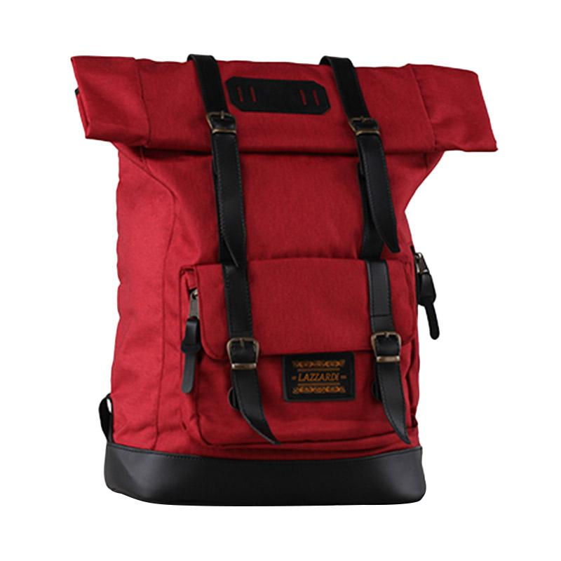 Lazzardi Frandeur Red Backpack