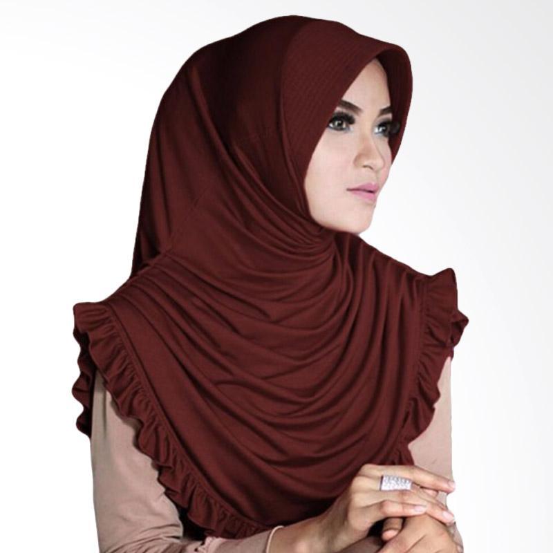 Milyarda Hijab Sofia - Coklat