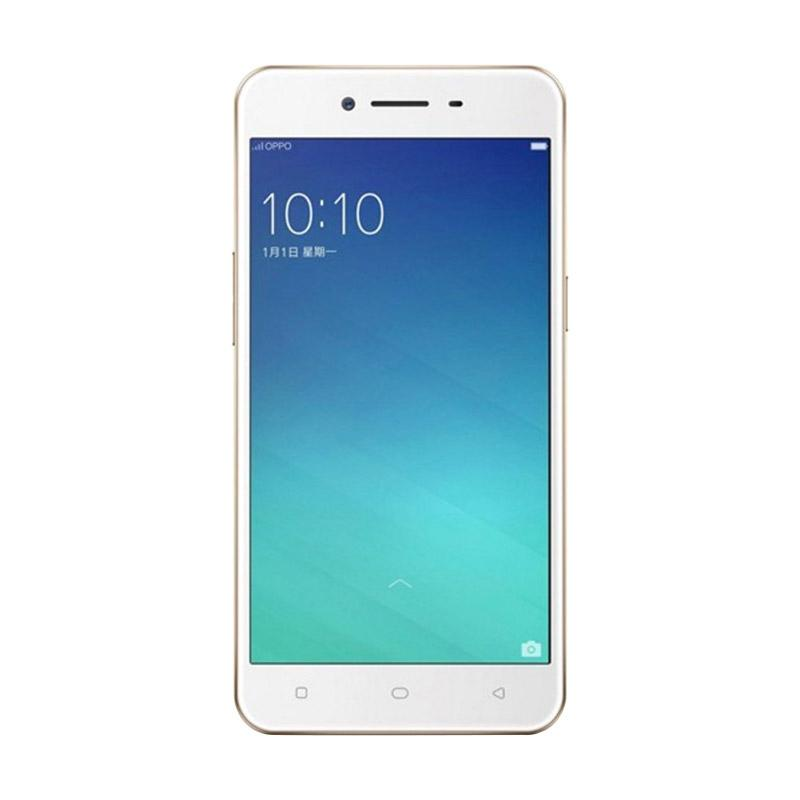 harga OPPO A37 Smartphone - Rose Gold [16GB/ 2GB] Free Speaker Bluetooth Mini Blibli.com