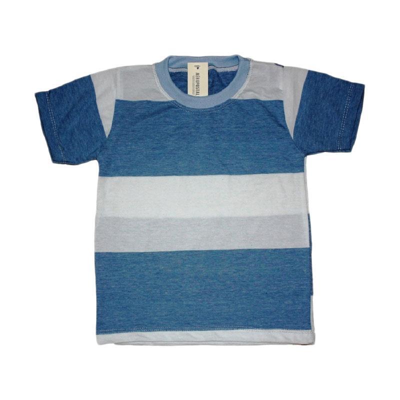 Pesona Line T-Shirts Ocean For Boy Baju Atasan Anak Laki-Laki - Blue