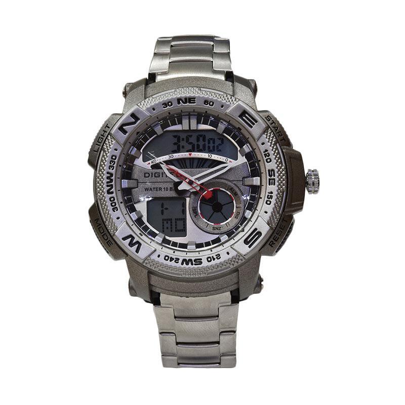 Digitec DG3014-A Jam Tangan Pria - Silver